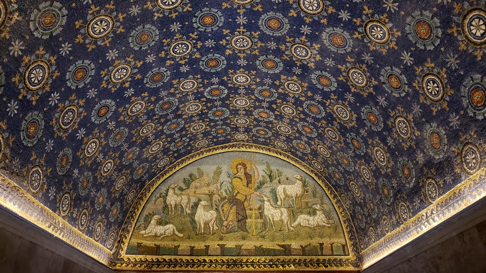 One Day in Ravenna Mausoleum of Galla Placidia