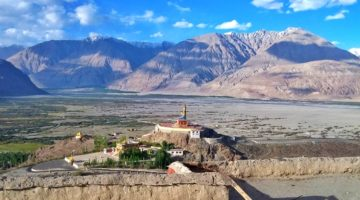 photo, Nubra River Valley