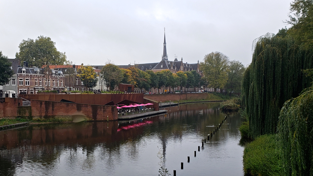 photo, image, river, den bosch solo travel