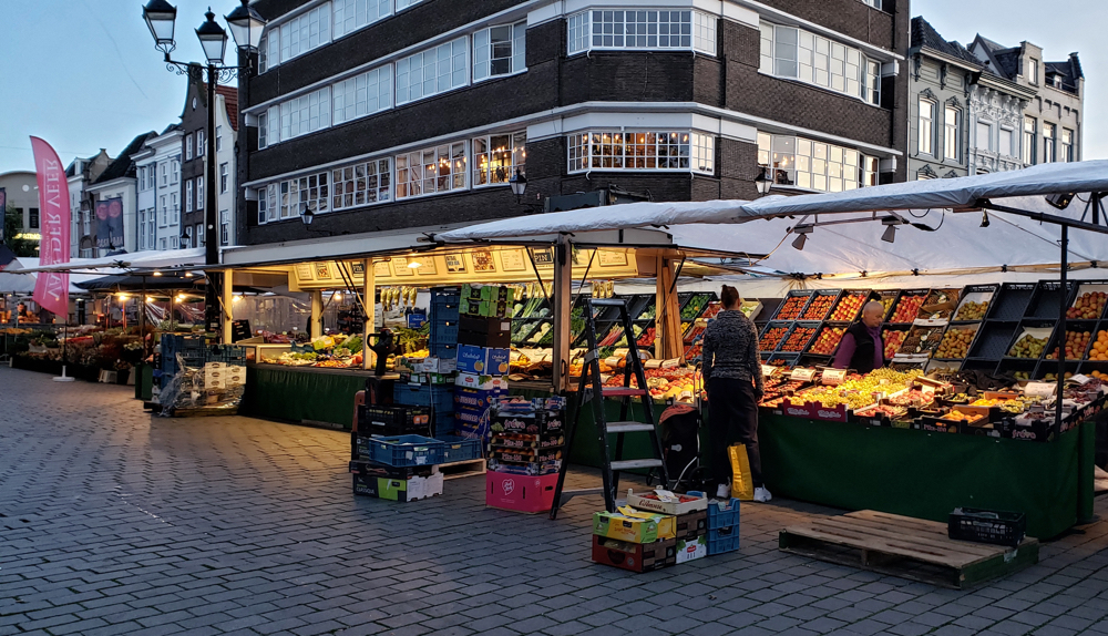 photo, image, market, den bosch solo travel