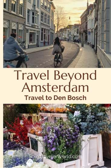 Den Bosch, Netherlands for five days. I could have stayed a month. It's perfect for solo travelers. Interesting, safe, beautiful and culturally rich. Travel beyond Amsterdam and experience Den Bosch. #solotravel #Amsterdam #Netherlands #DenBosch