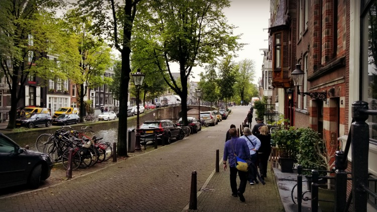 walking tour, amsterdam