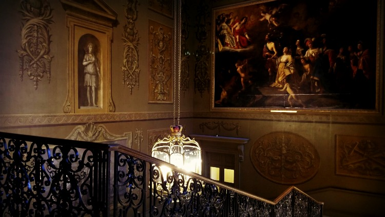 photo, image, stairwell, hampton court palace, exploring london