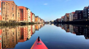 photo, image, kayak, trondheim, norway