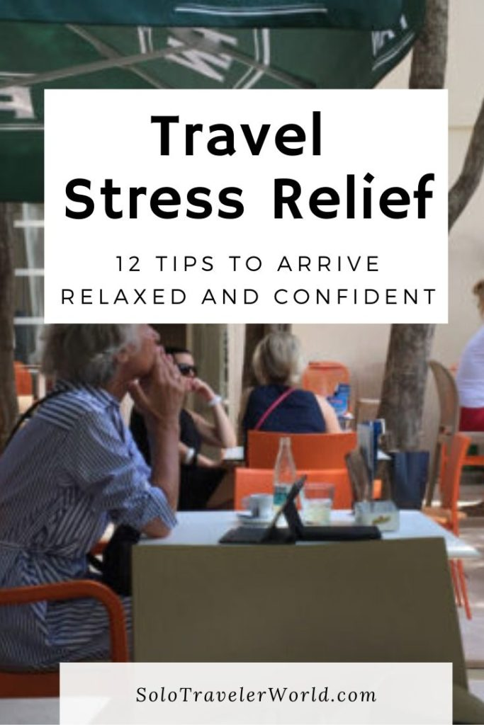 pre travel stress relief