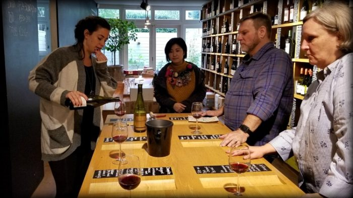 wine tasting in Amsterdam, solo travel budget