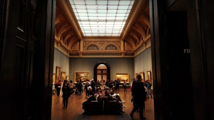 National Gallery, London, solo travel budget