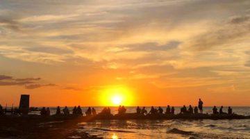 sunset, isla holbox