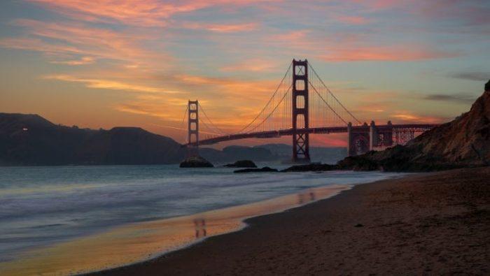 Amtrak's California Zephyr begins (or ends) in San Francisco.