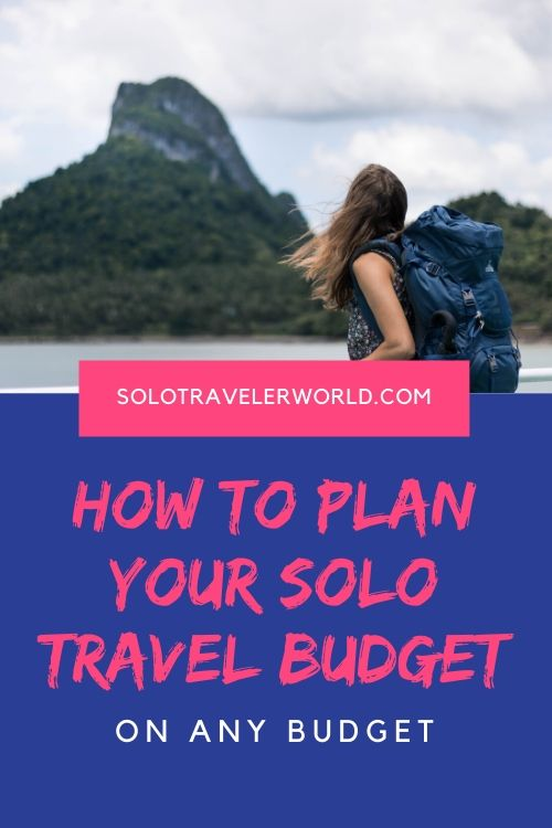 Trip planning includes how to plan a budget whether you have lots to spend or very little. Travel within your budget using the budgeting tool and these tips. #tripplanning #solotraveltips #solotravel #travelbudget