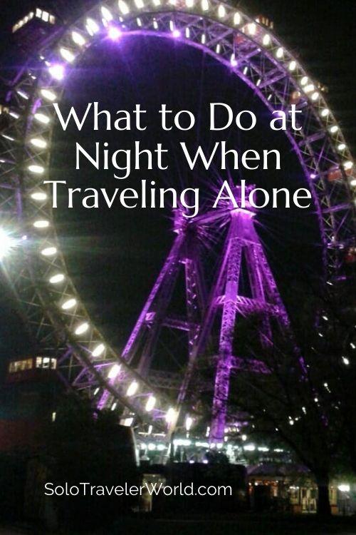 solo travel night