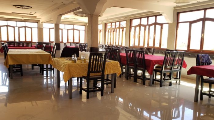 hotel dining room, travel and covid-19