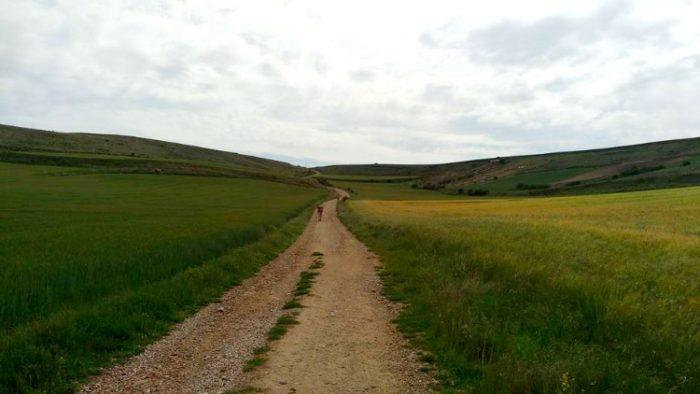 hornillos road, camino de santiago