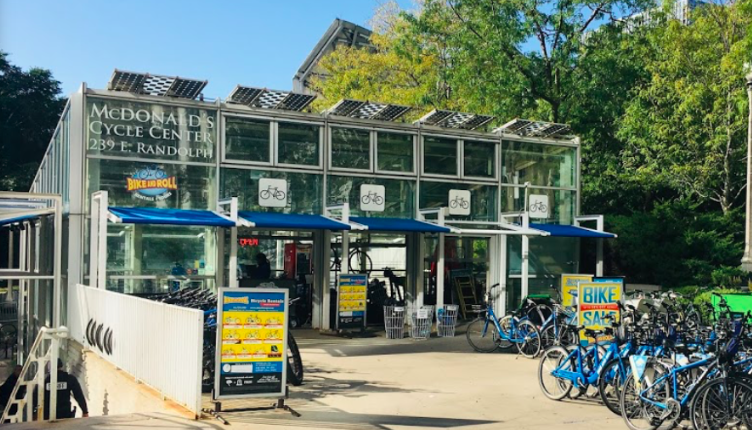 Bike centre in Chicago, solo travel and cycling