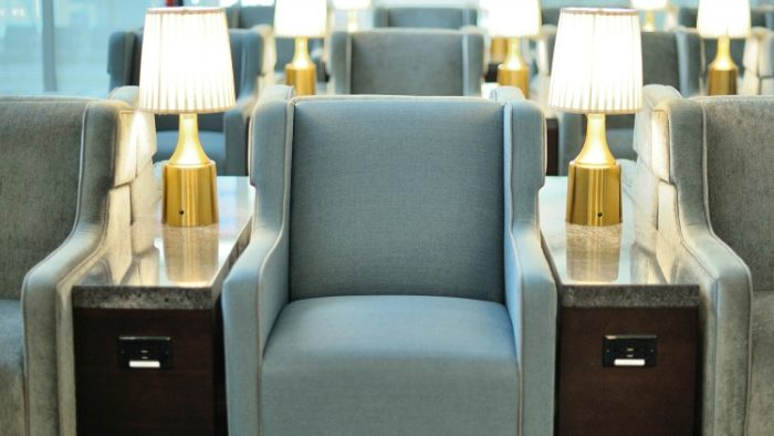 chairs, airport lounge