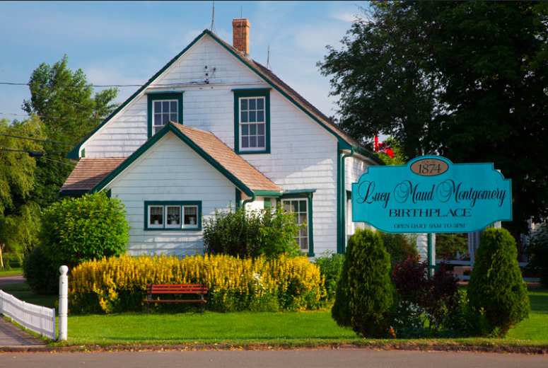 Lucy Maud Montgomery travel author's birthplace