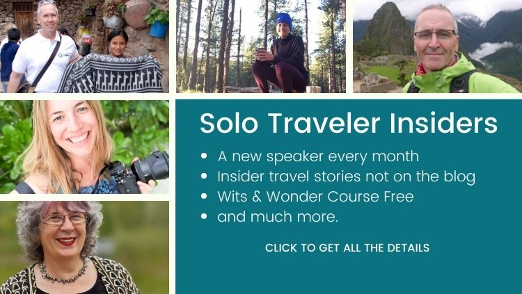 Become a Solo Traveler Insider