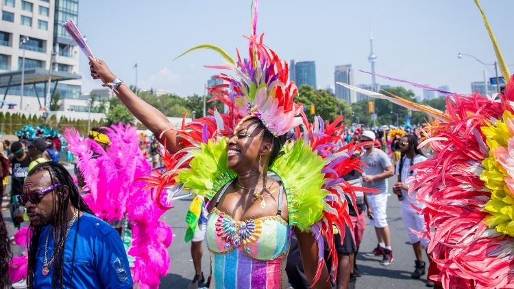 toronto caribbean carnival, multicultural cities